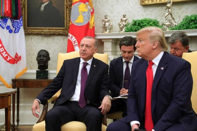 Erdoğan ile Trump görüşmesi sona erdi