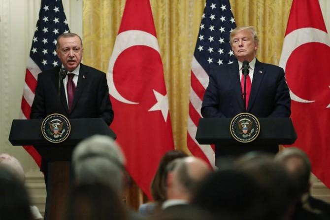 """""""Suriye'de kalıcı çözüm için ABD ile mutabakatımızı sürdürüyoruz"""""""