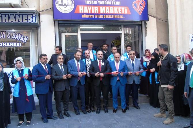"""Diyarbakır'da """"Hayır Marketi""""nin açılışı yapıldı"""