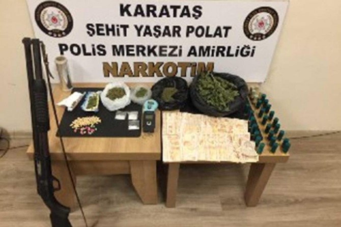 Gaziantep'te uyuşturucu ve hırsızlık operasyonu: 11 gözaltı