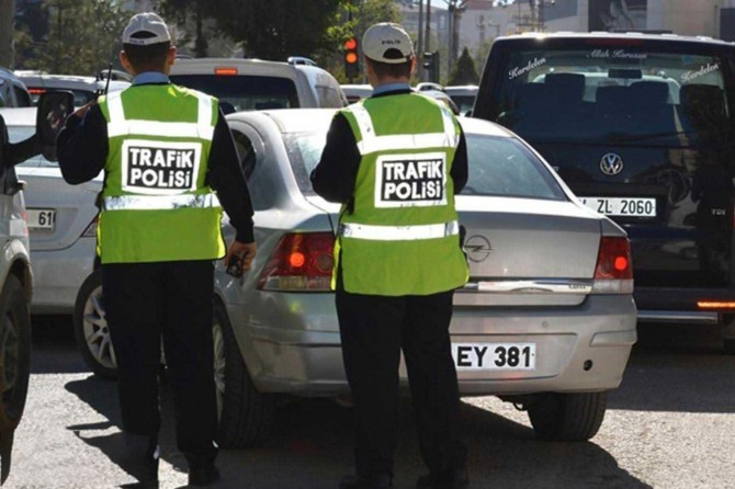 Gaziantep'te 188 araç trafikten men edildi