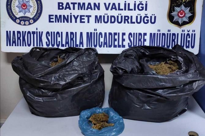 Batman'da uyuşturucu operasyonu