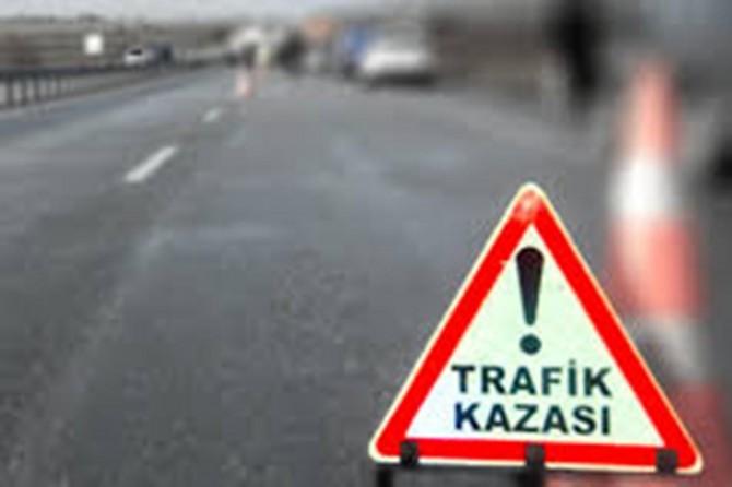 Şanlıurfa-Viransehir Karayolunda otomobil şarampole yuvarlandı: 1 ölü 3 yaralı