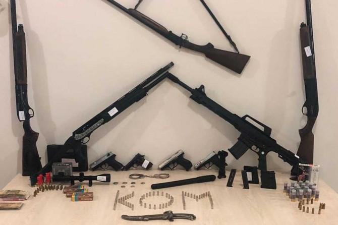 Silah kaçakçılarına yönelik operasyon