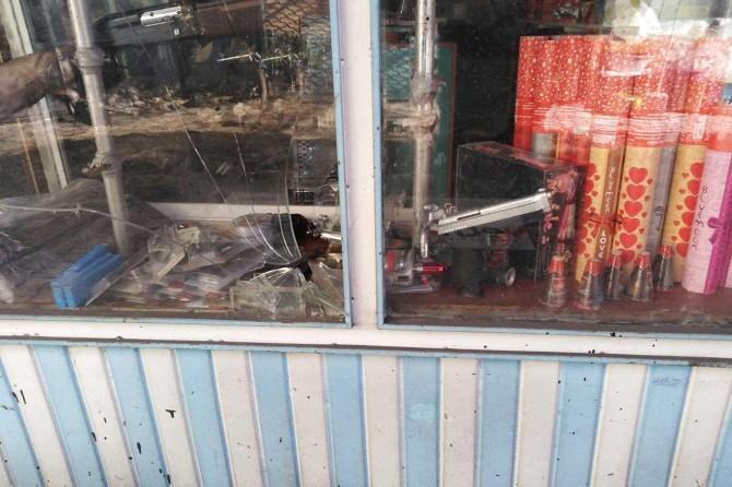 Palu'da Cuma namazı vaktinde av bayisinden tabanca çalındı