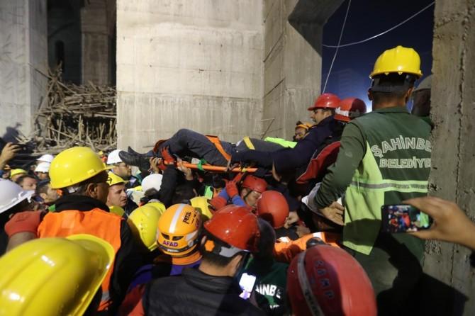 Gaziantep'te yaralı olarak kurtarılan mühendis hayatını kaybetti