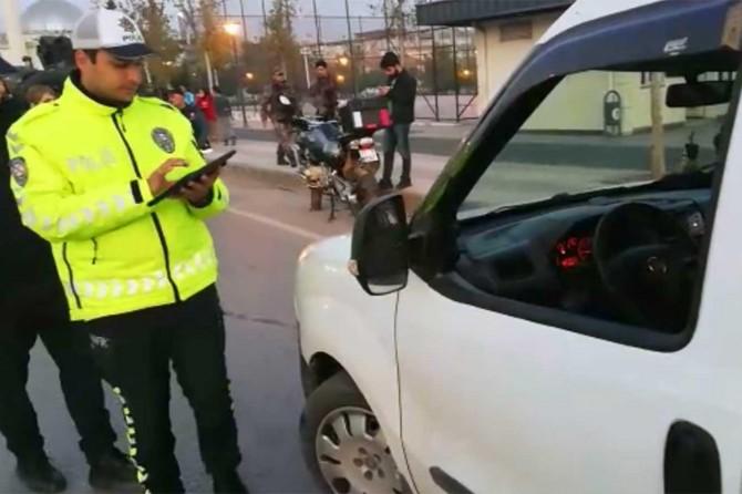 Binlerce sürücüye para cezası verildi