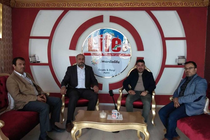 Mardin'e hizmet etmenin gayreti içerisinde olacağız