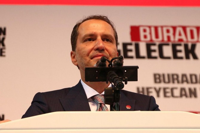 Yeniden Refah Partisi'nin 1. Olağan Büyük Kongresi yapıldı