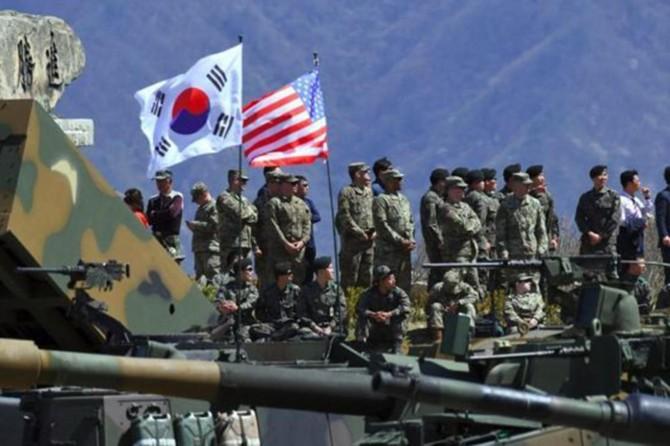 ABD-Güney Kore ortak tatbikatı ertelendi