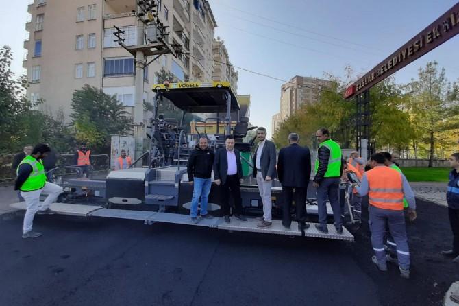 Bağlar Belediyesi kendi asfaltını üretiyor
