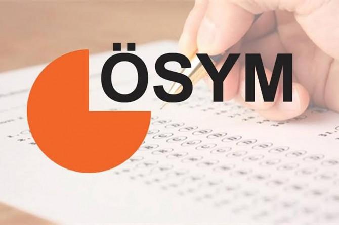 ÖSYM 2020 sınav takvimini yayınladı