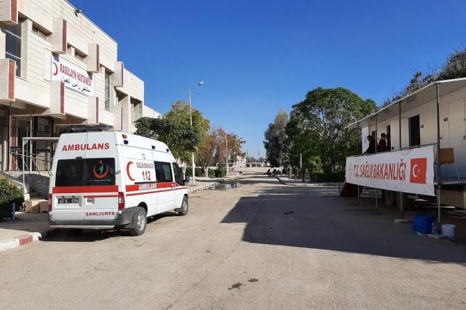 Resulayn Hastanesi hizmet vermeye başladı