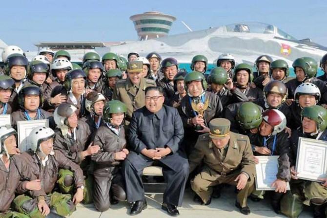 Kuzey Kore'den hava indirme tatbikatı