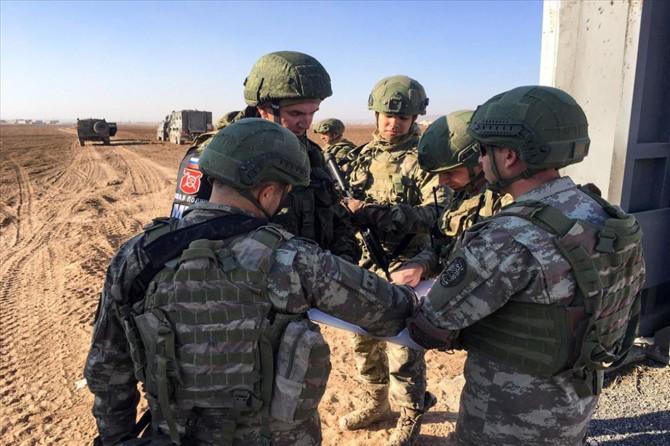 Fırat'ın doğusunda icra edilen sekizinci kara devriyesi tamamlandı