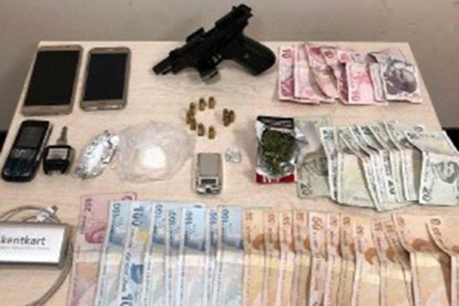 Gaziantep'te çeşitli suçlardan aranan 95 şüpheli yakalandı