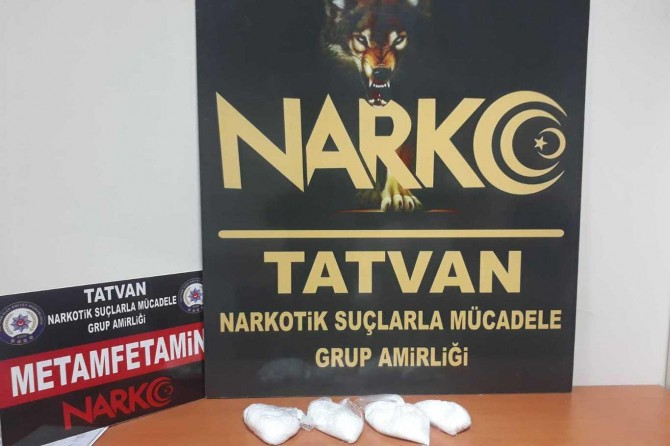 Tatvan'da uyuşturucu madde ele geçirildi