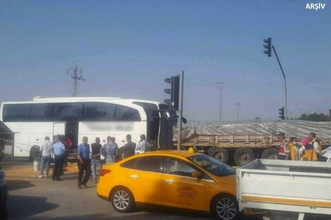 Afyonkarahisar-Konya karayolunda yolcu otobüsü TIR'la çarpıştı: 2 ölü, 20 yaralı