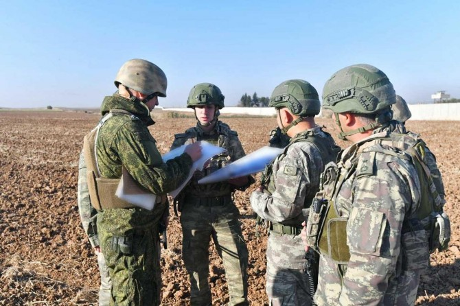 Turkey-Russia complete ninth joint patrols in Syria, Turkish Defense Ministry says