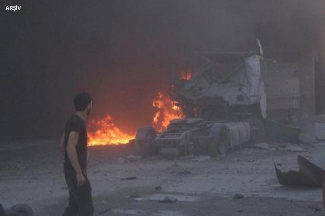 İdlib'te füze saldırısında 8 kişi hayatını kaybetti