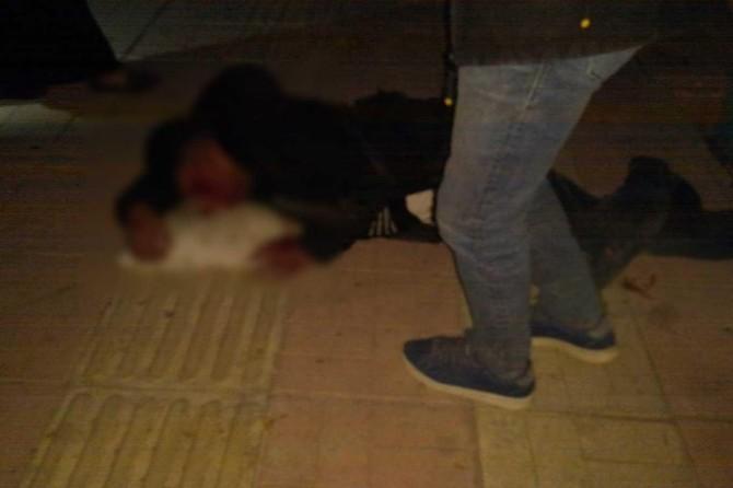 Siirt'te askerlik şubesi civarında otomobil ile motosiklet çarpıştı: 1 ağır yaralı