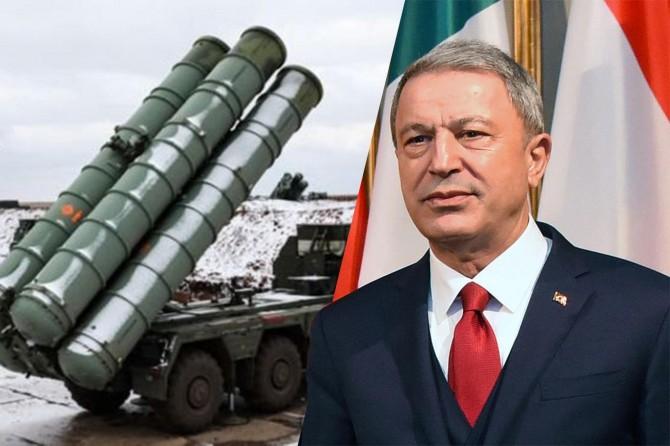 Savunma Bakanı Akar: S-400 çalışacak