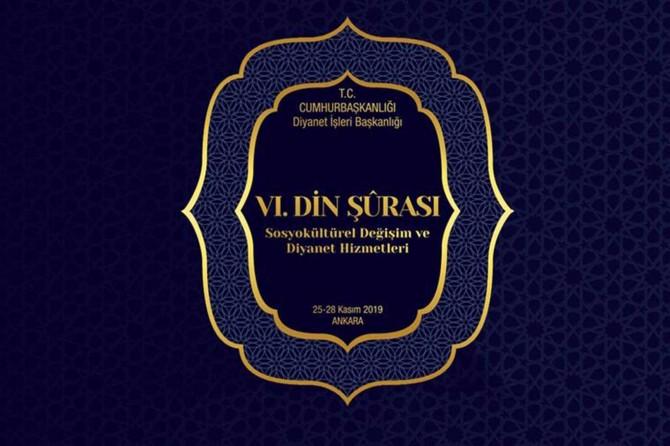 6. Din Şurası 25 Kasım'da Ankara'da başlayacak