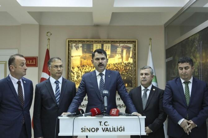 Bakan Kurum'dan Kadıralak ve Dipsiz Göl açıklaması