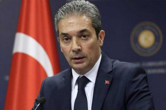 Turkey criticizes a press release issued by the UN Special Rapporteurs about an Irish citi