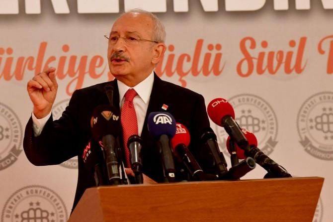 Kılıçdaroğlu'ndan CHP'ye yönelik kumpas iddiası
