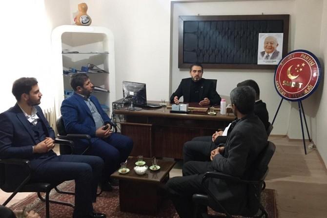 HÜDA PAR Aksaray İl Başkanlığından siyasi partilere ziyaret