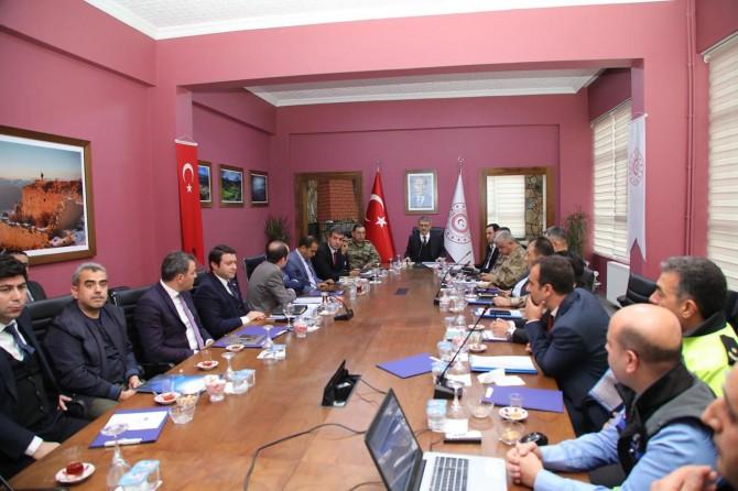 Bingöl'de kış tedbirleri koordinasyon toplantısı