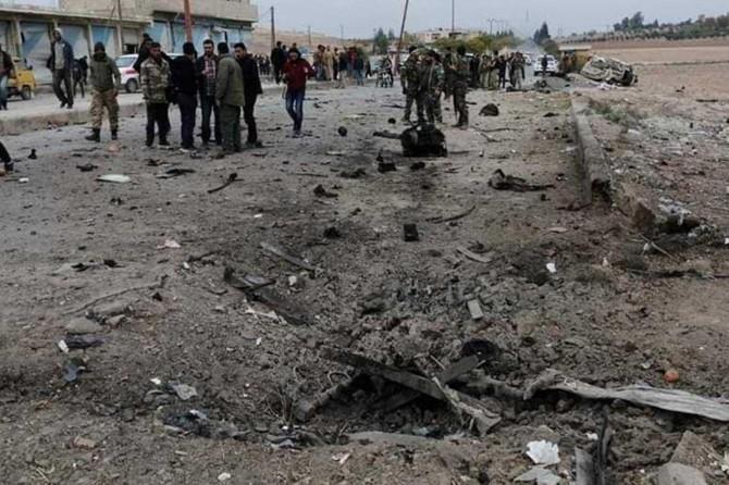 MSB: Tel Abyad'da PKK/YPG'nin bombalı araçla saldırı girişimi önlendi