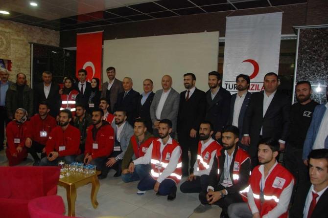 Kızılay Bölge Çalıştayı Bitlis'te gerçekleştirildi