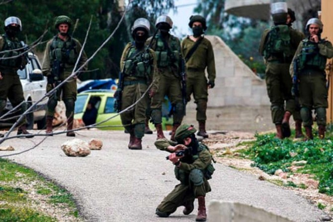 Palestinian kid injured in clashes with zionist gangs in Nablus