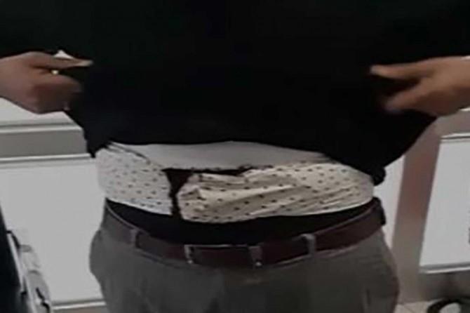 Van'da bel kuşağında afyon sakızı ele geçirildi