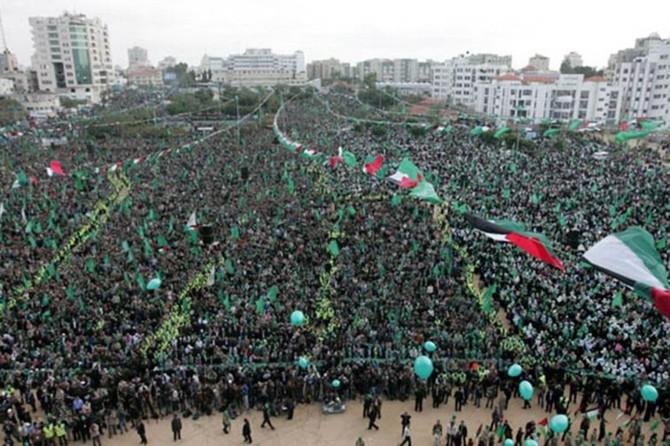 Hamas: Gelê me li dijî îşxalê xwedîyê mafa berxwedanê ye