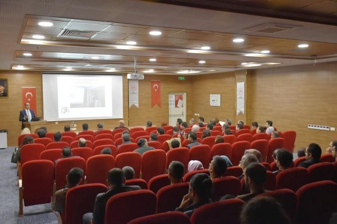 Mardin'de toplum sağlığını tehdit eden enfeksiyonlar eğitimi