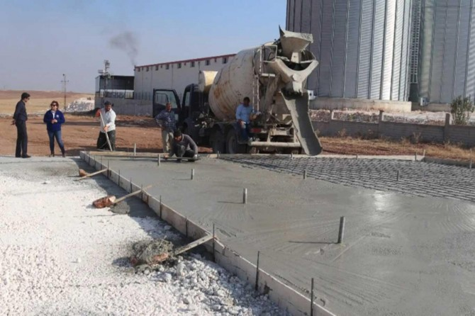 Viranşehir'de yeşil sebzeler güneş enerjisi ile kurutulacak