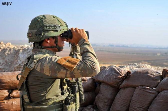 Barış Pınarı Harekâtı bölgesinde PKK/YPG saldırısı