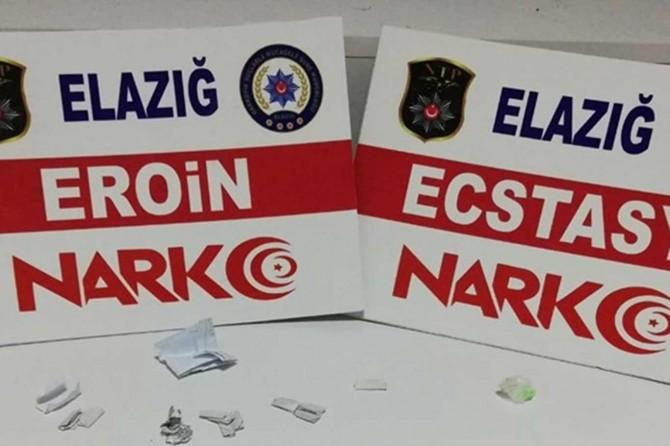 Elazığ'da uyuşturucu operasyonu: 1 tutuklama