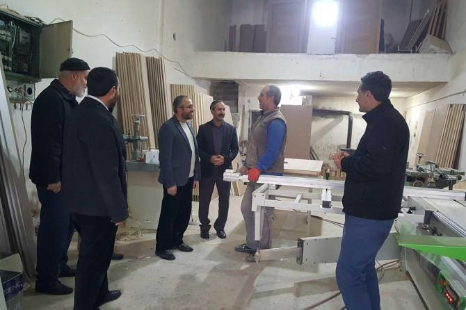 HÜDA PAR Bingöl İl Teşkilatından Sanayi Sitesi esnafına ziyaret