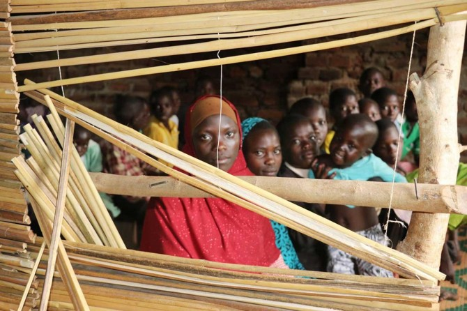 Uganda'daki hafızlık eğitimi alan yetim çocuklara yardım