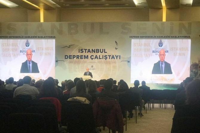 İstanbul'da deprem platformu kuruluyor