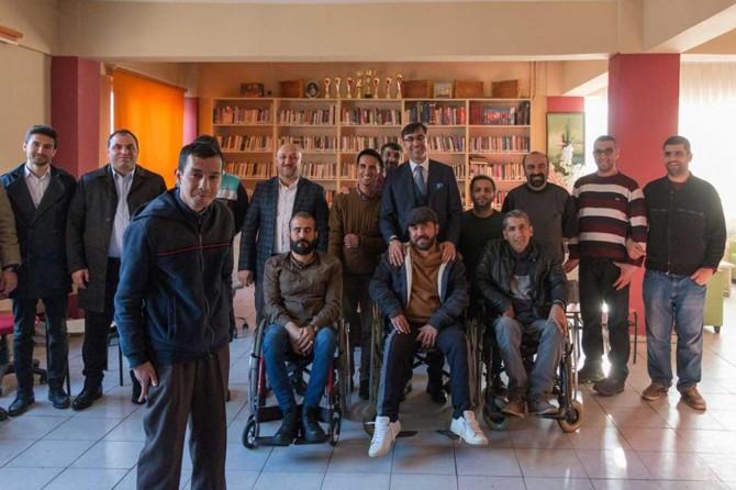 Belediye araçlarını engelli vatandaşların hizmetine sunduk