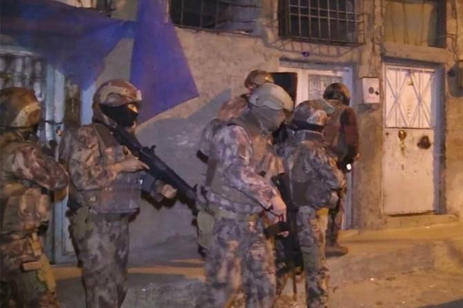 Gaziantep'te uyuşturucu operasyonunda 25 şüpheli gözaltına alındı