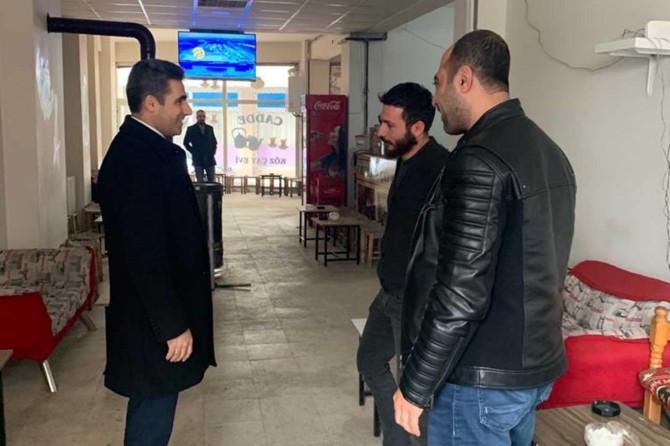 Bingöl Belediye başkanı Erdal Arıkan'dan esnaf ziyaretleri