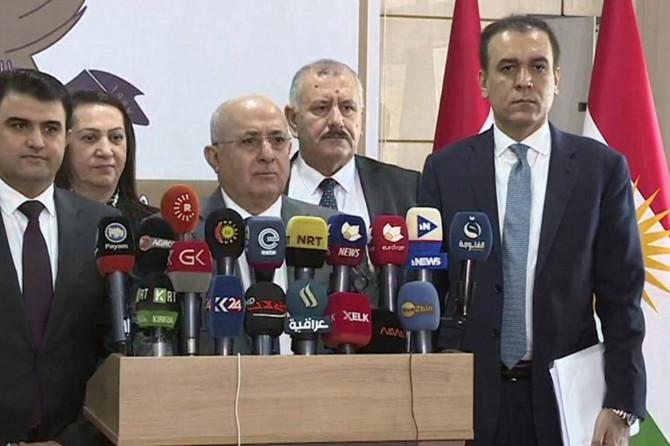 Erbil ile Bağdat bütçe ve petrol konularında anlaştı
