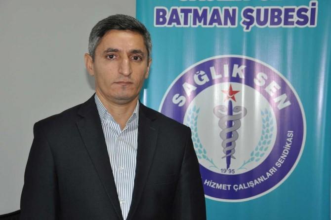 Sağlık-Sen Batman Şube Başkanı: Döner sermaye sistemi çökmüştür