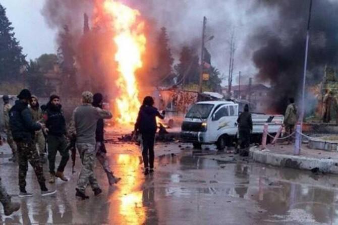 Rasulayn'da bombalı araç saldırısı: 2 sivil öldü